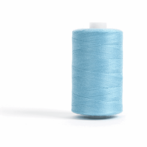 Thread 1000m Extra Large - Saxe Blue - for Sewing and Overlocking