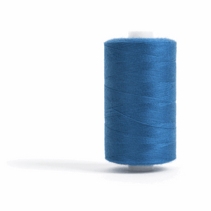Thread 1000m Extra Large - Royal Blue - for Sewing and Overlocking