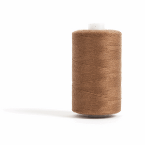 Thread 1000m Extra Large - Brown - for Sewing and Overlocking