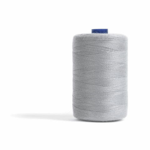 Thread 1000m Extra Large - Light Grey - for Sewing and Overlocking