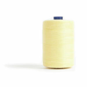 Thread 1000m Extra Large - Lemon - for Sewing and Overlocking