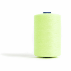 Thread 1000m Extra Large - Fluorescent Lime - for Sewing and Overlocking