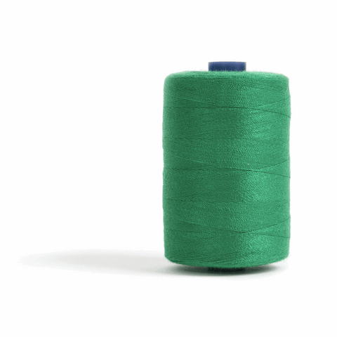 Thread 1000m Extra Large - Emerald Green - for Sewing and Overlocking