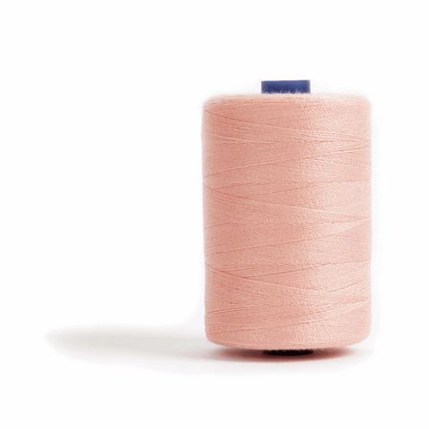 Thread 1000m Extra Large - Peach - for Sewing and Overlocking