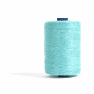 Thread 1000m Extra Large - Turquoise - for Sewing and Overlocking