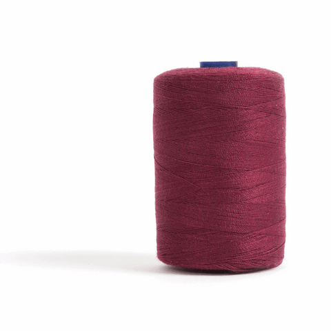 Thread 1000m Extra Large - Wine - for Sewing and Overlocking