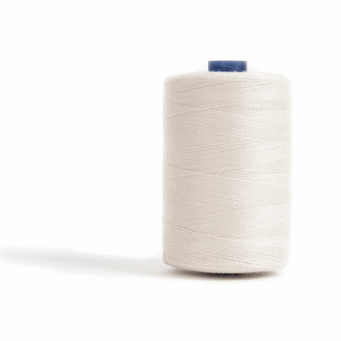Thread 1000m Extra Large - Ivory - for Sewing and Overlocking