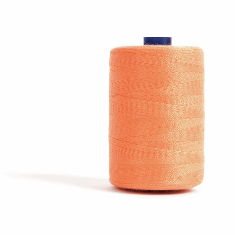 Thread 1000m Extra Large - Apricot - for Sewing and Overlocking