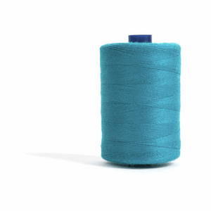 Thread 1000m Extra Large - Teal - for Sewing and Overlocking