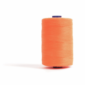 Thread 1000m Extra Large - Fluorescent Orange - for Sewing and Overlocking