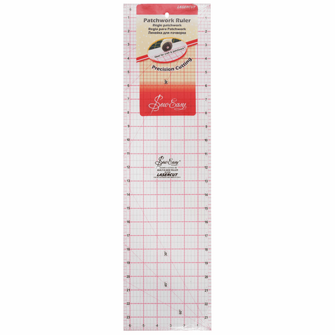 Quilting Patchwork Ruler - 24 x 6.5in