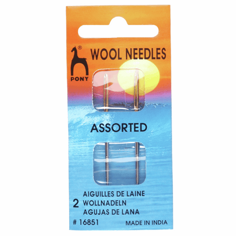 Pony Wool Gold Eye Hand Sewing Needles