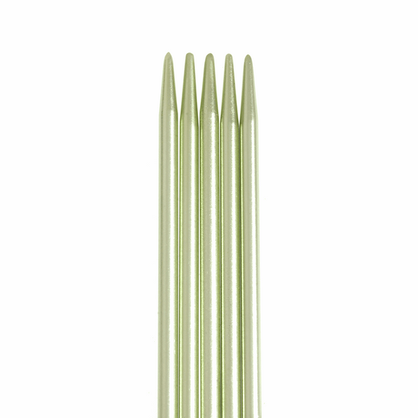 PONY Double-Ended Coloured Aluminium Knitting Pins - 20cm x 2.50mm (Set of 5)