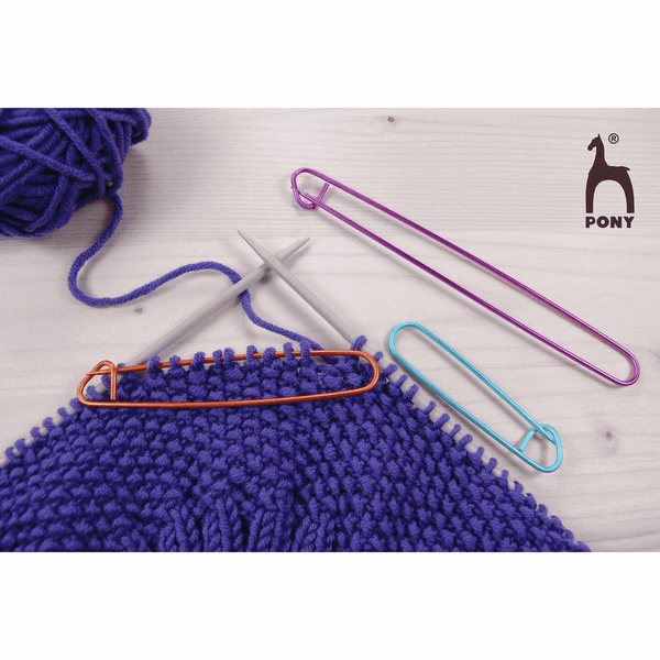 PONY Multicolour Stitch Holder - 3 x Assorted Sizes