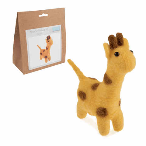 Needle Felting Kit: Giraffe
