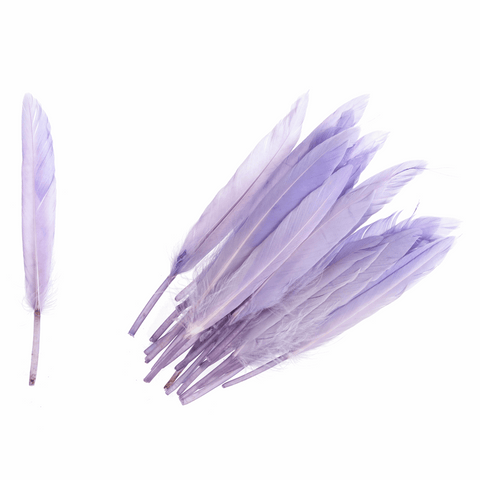 Trimits Duck Feathers - Lilac (Pack of 24)