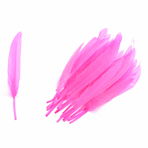 Trimits Duck Feathers - Cerise (Pack of 24)