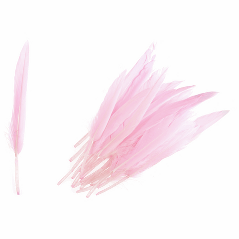Trimits Duck Feathers - Pink (Pack of 24)
