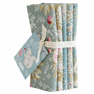 Tilda - Woodland Fat Quarter Bundle - 50 x 55cm - 5 Pieces - Green/Sage * Limited Edition *