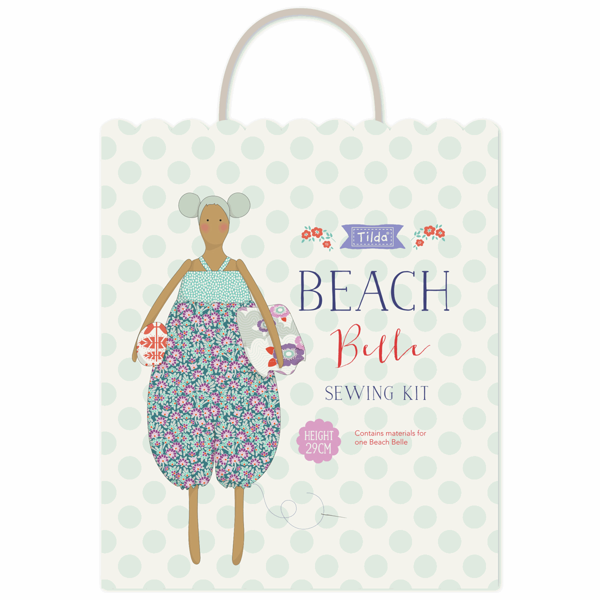 Tilda Beach Bum Sewing Kit - Lazy Days