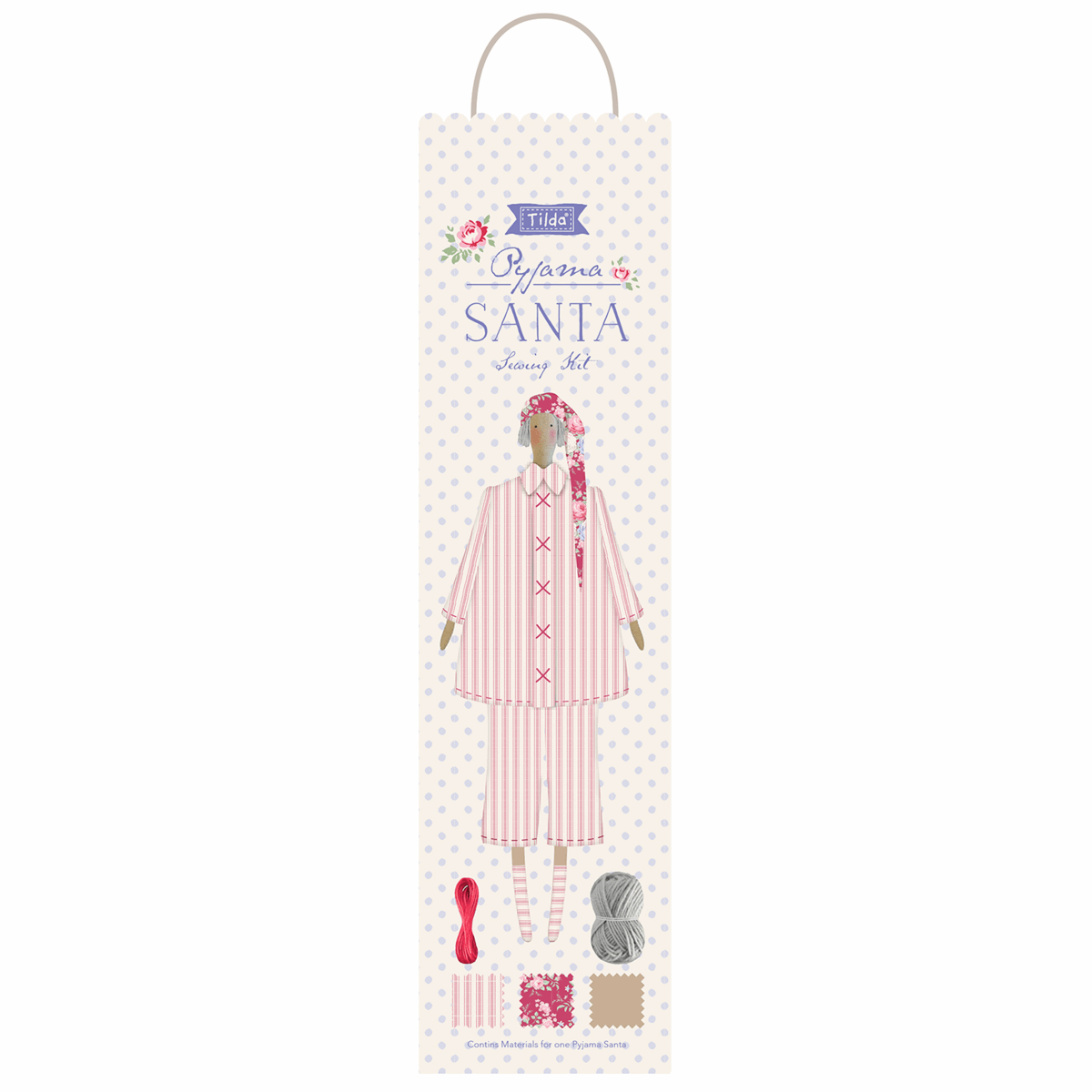 Tilda Old Rose Pyjama Sewing Kit