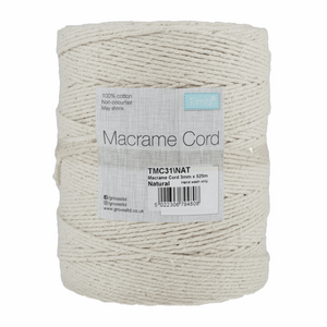 Natural Macrame Cord - 525m x 3mm