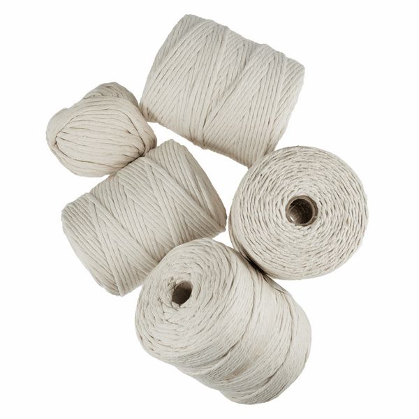 Natural Macrame Cord - 100m x 7mm