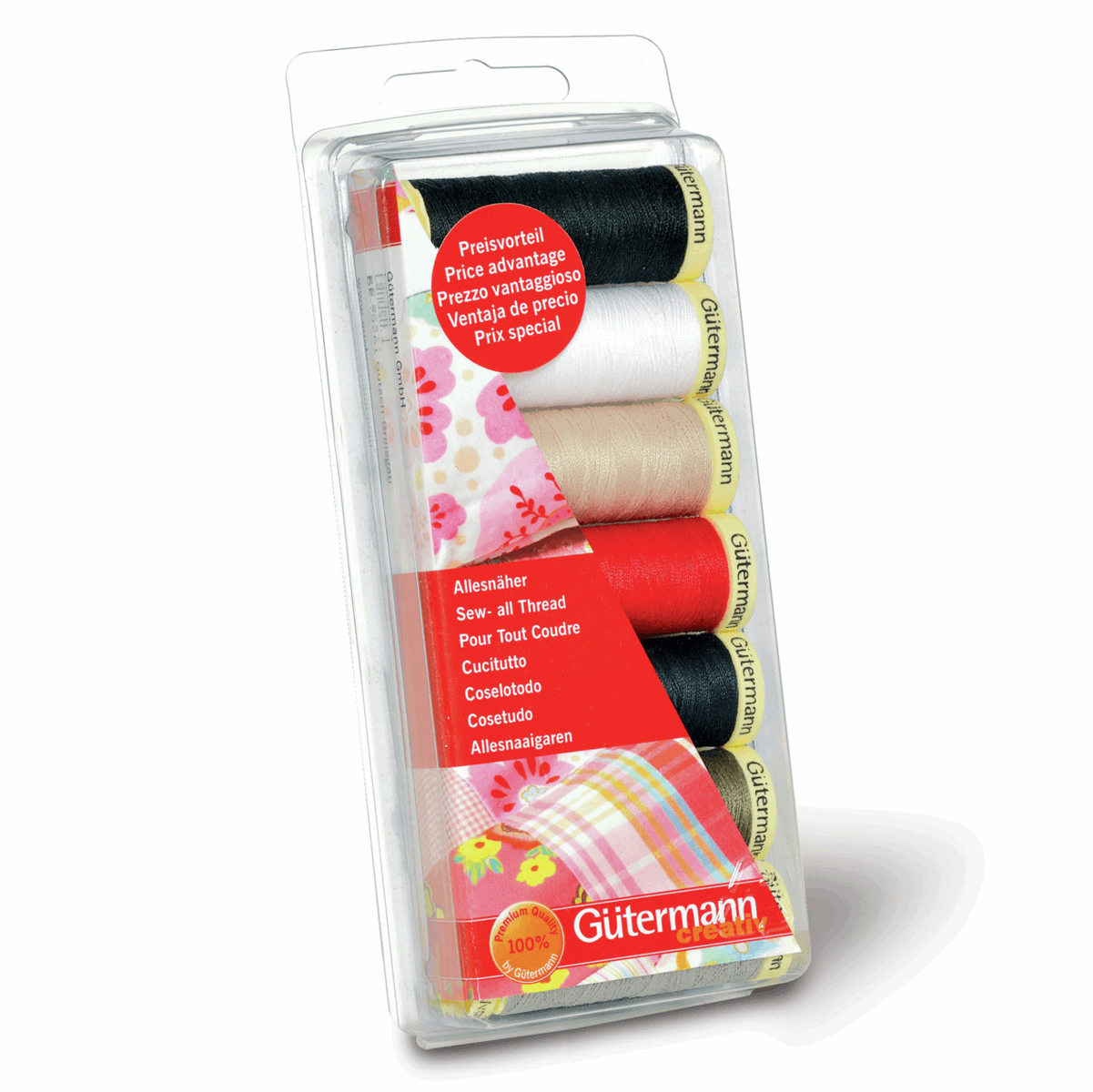 Gutermann Thread Set Sew-All 7 x 100m Assorted