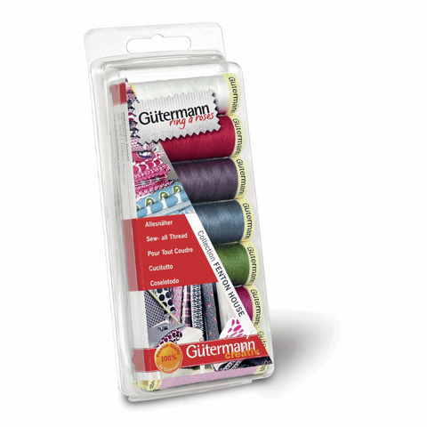 Gutermann Thread Set Sew-All 7 x 100m Fenton House
