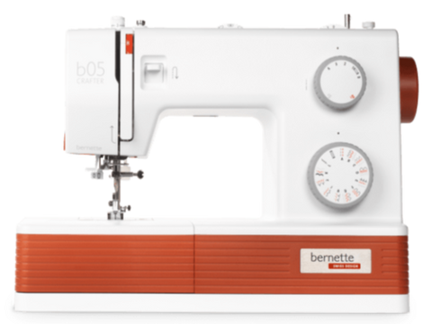 Bernette 05 Crafter * latest 2021 Heavy Duty machine, faster 1100spm * - Similar spec to Singer 4423 / 4432 machines