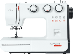 bernette b35 Sewing Machine - 3 dial controls, drop feed for free motion embroidery, auto threader  - Preorder for August delivery (week commencing 24th August)