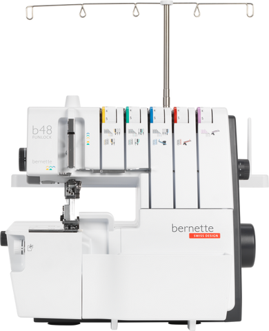 bernette by BERNINA Funlock b48 Pro Series Combination Overlocker and Coverstitch Machine - Preorder for delivery January 2021