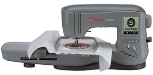 Singer Quantum Stylist EM200 Embroidery Machine - Sews any design, USB input - Preorder for July delivery