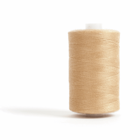 Thread 1000m Extra Large - Beige - for Sewing and Overlocking