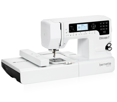 bernette Chicago 7 Sewing and Embroidery Machine * Weekend Clearance Offer - only 2 left *