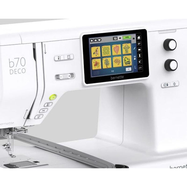 bernette B70 DECO Embroidery Machine including FREE Bernina Toolbox Software