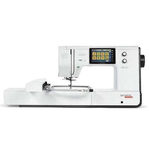 bernette B70 DECO Embroidery Machine including FREE Bernina Toolbox Software - Ex Display