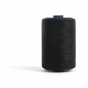 Thread 1000m Extra Large - Black - for Sewing and Overlocking