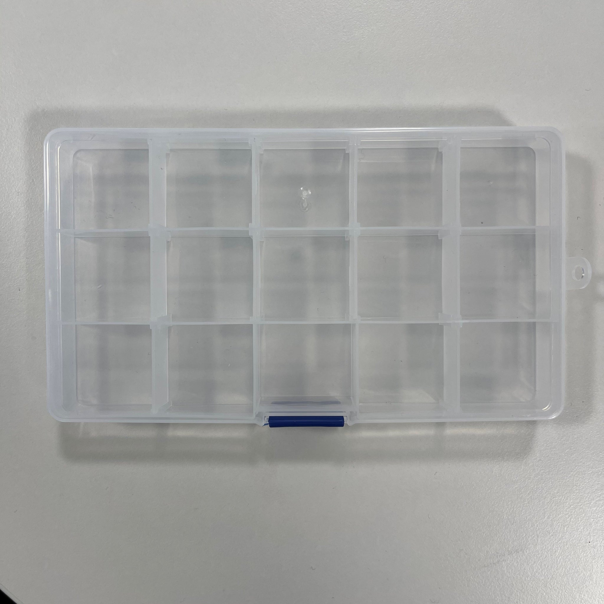 Storage Box with 15 compartments for Bobbins or Sewing Feet