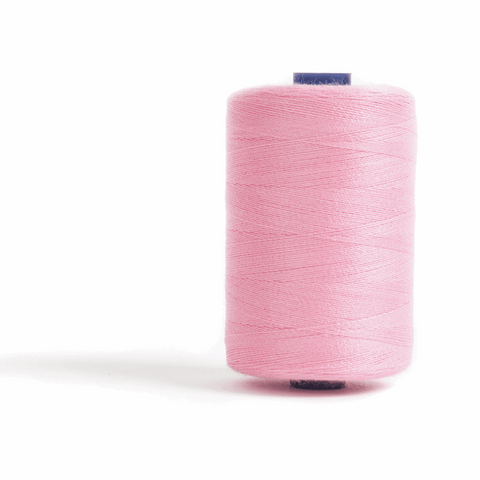 Thread 1000m Extra Large - Candy Pink - for Sewing and Overlocking