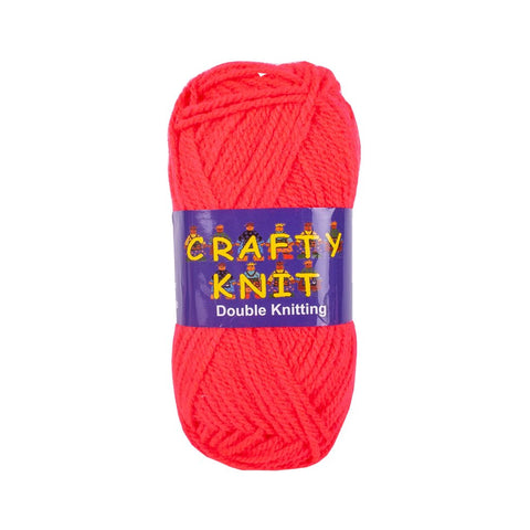 Essential Knitting Yarn - Red (Shade 365)