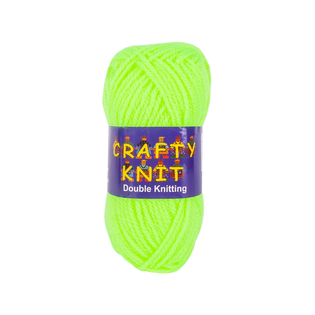 Essential Knitting Yarn - Neon (Shade 410)