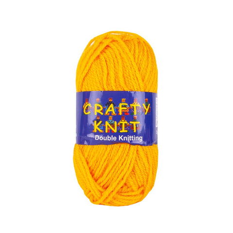 Essential Knitting Yarn - Mustard (Shade 363)