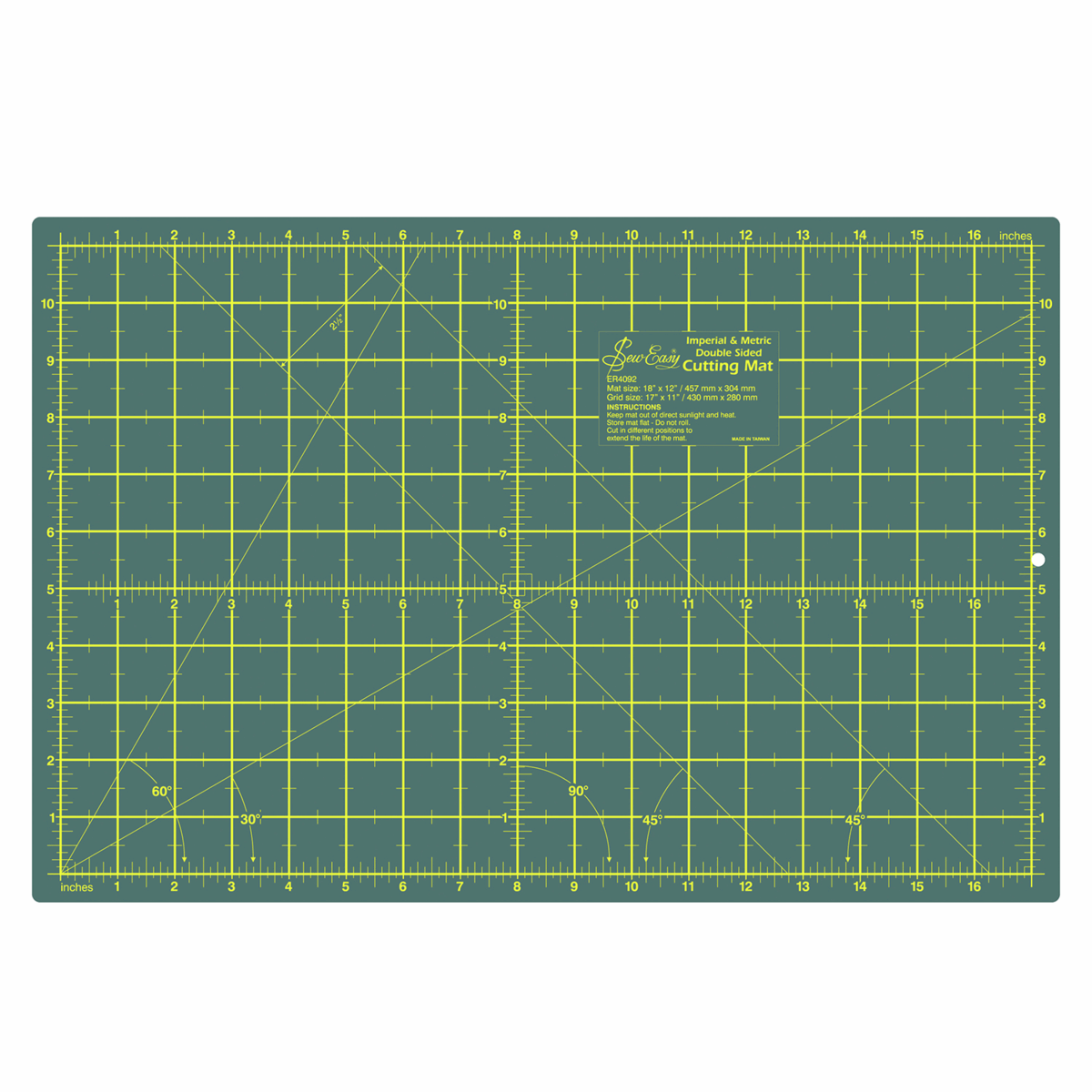 A3 Self Healing Cutting Mat - 45 x 30cm