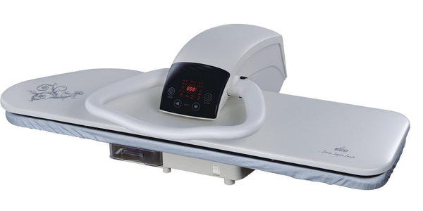 HD Press White 100cm Extra Large Ironing Press with Free Iron Attachment, Cover, Foam and Filter - Singer Outlet Offer - Please allow 1 to 2 weeks delivery for this item