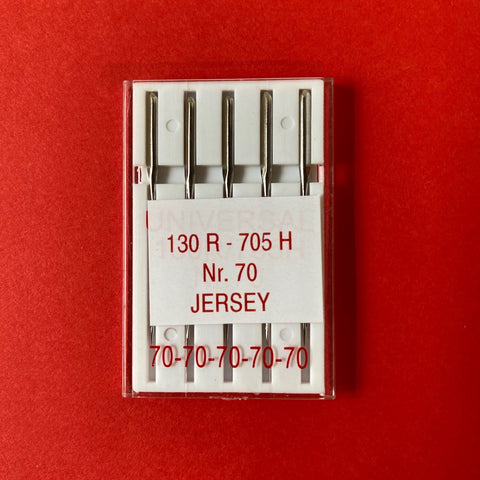 Stretch Jersey Sewing Machine Needles - Size 70 (pack of 5)