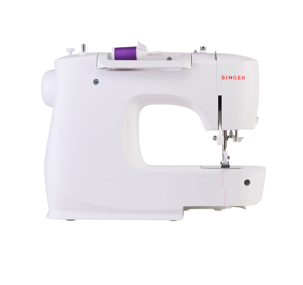 Singer M3505 * new for 2020 * 32 stitch patterns with 1 step buttonhole and auto threader, overcast and stretch stitches - can sew silk to leather - Please allow 5 working days for delivery