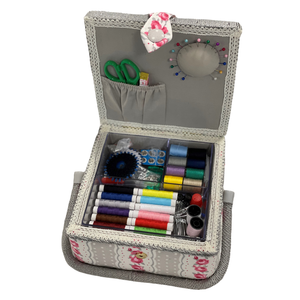 Luxury Craft Storage with Deluxe Craft Sewing Kit - Taupe * ideal for Christmas *