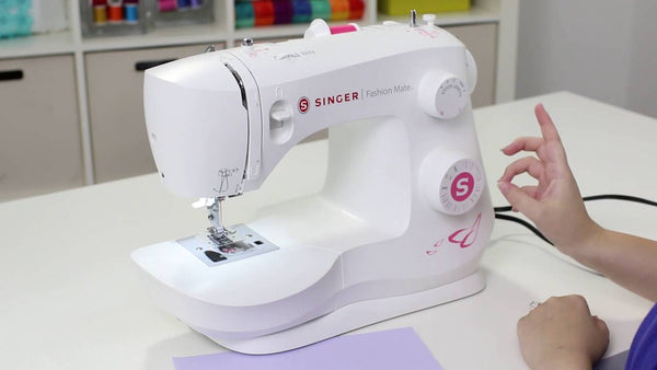 Singer Fashion Mate 3333 with Auto needle threader and Drop and Sew bobbin - latest 2020 model, Strong metal frame - Preorder for September Delivery