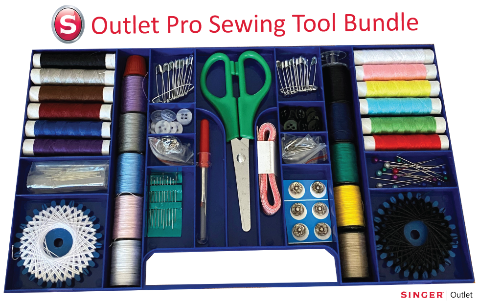 Singer Outlet Professional Sewing Tool Bundle with 145 pieces